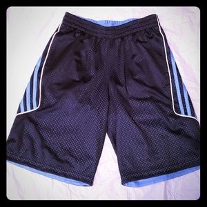 Boys Reversible Adidas Shorts Size Medium